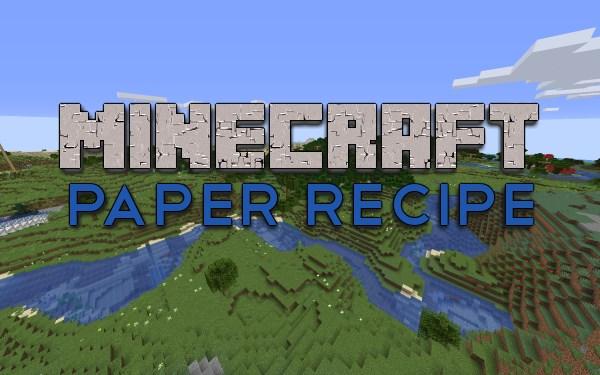 paper recipe featured image