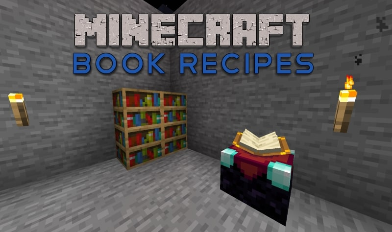 featured image for minecraft book recipes