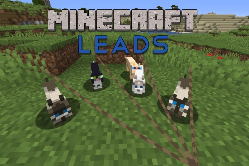 minecraft featured image for how to make a lead